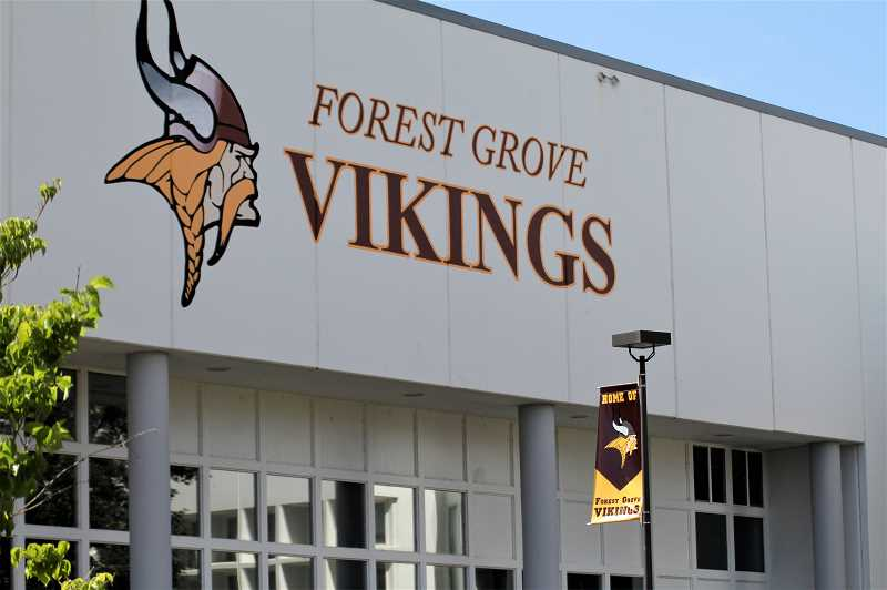 PMG FILE PHOTO - The Forest Grove School District voted down continuing with a school resource officer and is working with the city and police department on alternative options.
