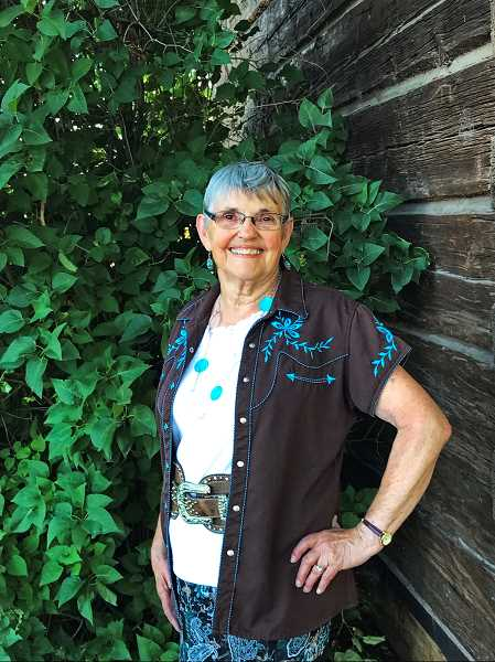 PHOTO COURTESY OF CINDY CHANEY - Crystal Moore Madison is the third Pioneer Queen from CCHS Class of 1957. She has a rich family history in Crook County, including early Grizzly area settlers.
