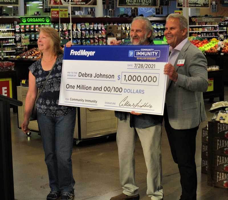 Canby resident wins $1 million in Fred Meyer sweepstakes