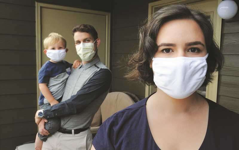 PMG FILE PHOTO - Cases of COVID-19 are spiking in Oregon again, leading public health officials to recommend that all individuals wear masks in indoor, public settings