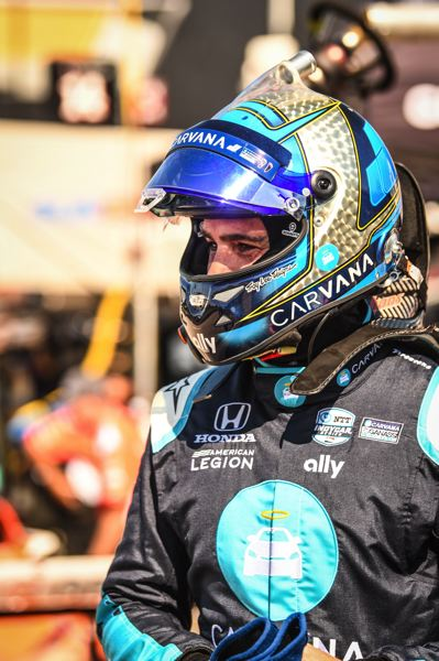 COURTESY PHOTO - Former NASCAR Cup Series great Jimmie Johnson is driving for Chip Ganassi Racing in IndyCar Series. He's testing at Portland International Raceway on Friday, July 30.