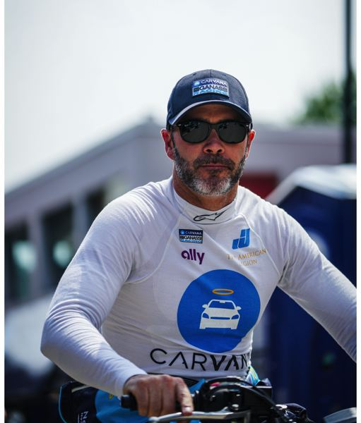 COURTESY PHOTO - Jimmie Johnson said he enjoys the IndyCar Series tracks, culture, vibe and 'challenge' of driving the open-wheel car.