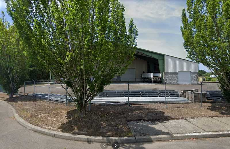 SATELLITE IMAGE - Columbia Hemp Trading Company's Molalla facility is located at 410 Industrial Way.
