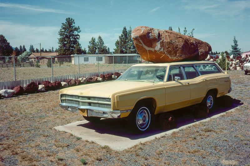 COURTESY PHOTO - Blue Sky Gallery features 'Out West,' a retrospective of photographer Ingebord Gerdes' work.