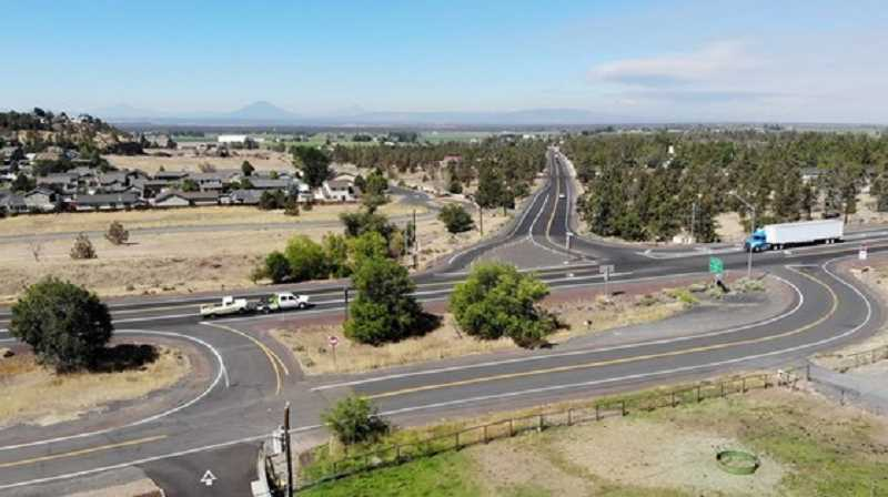 ODOT PHOTO - The intersection of U.S. 97 and Lower Bridge Way in Terrebonne is the topic of the open house from 6 to 8 p.m. Wednesday, Aug. 4 at Terrebonne Community School.