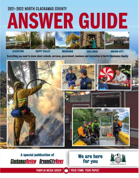 (Image is Clickable Link) Clackamas County Answer Guide 2021