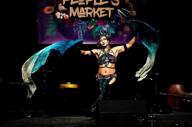 COURTESY PHOTO: MY PEOPLE'S MARKET/CHRISTINA DONG - A performer at a previous version My People's Market, which will be at Portland's North Park Blocks August 6 to 8, 2021.