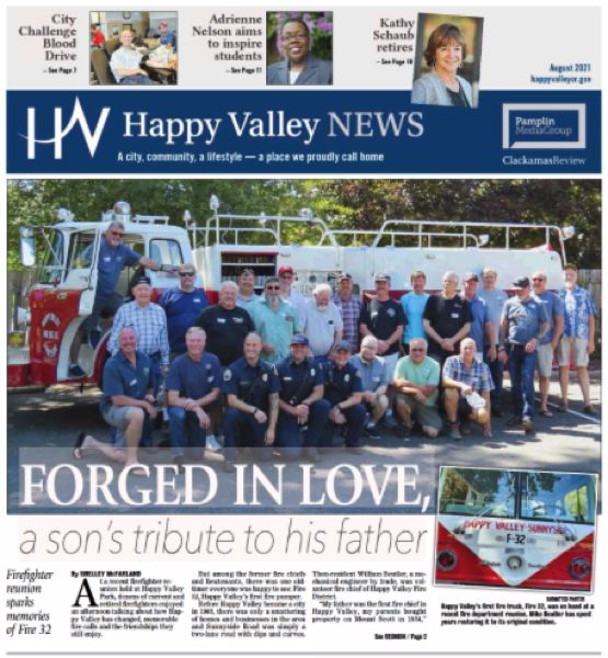 (Image is Clickable Link) Happy Valley News August 2021