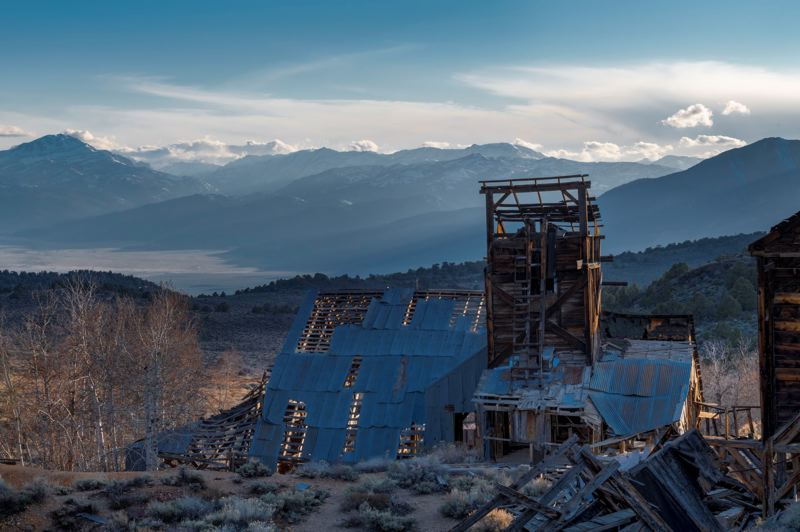 COURTESY PHOTO - Ted Rigoni's photograph, 'Last Man Standing,' was taken at the Chemung Mine near the ghost town of Masonic, California. This will be on display during the Arts Council of Lake Oswego's fall exhibit.