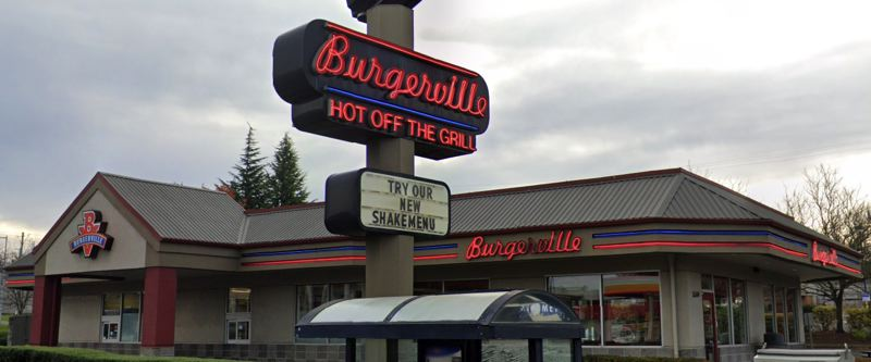 COURTESY PHOTO: GOOGLE MAPS - Burgerville announced the temporary closure of its drive-through restaurant in the Lents neighborhood of Southeast Portland on Tuesday, Aug. 3.