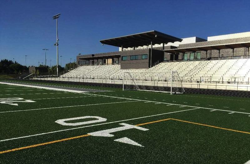 COURTESY PHOTO: OSAATODAY - The football stadium at Nelson High School in Happy Valley is ready for the Hawks' season opener Sept. 3 against Barlow.