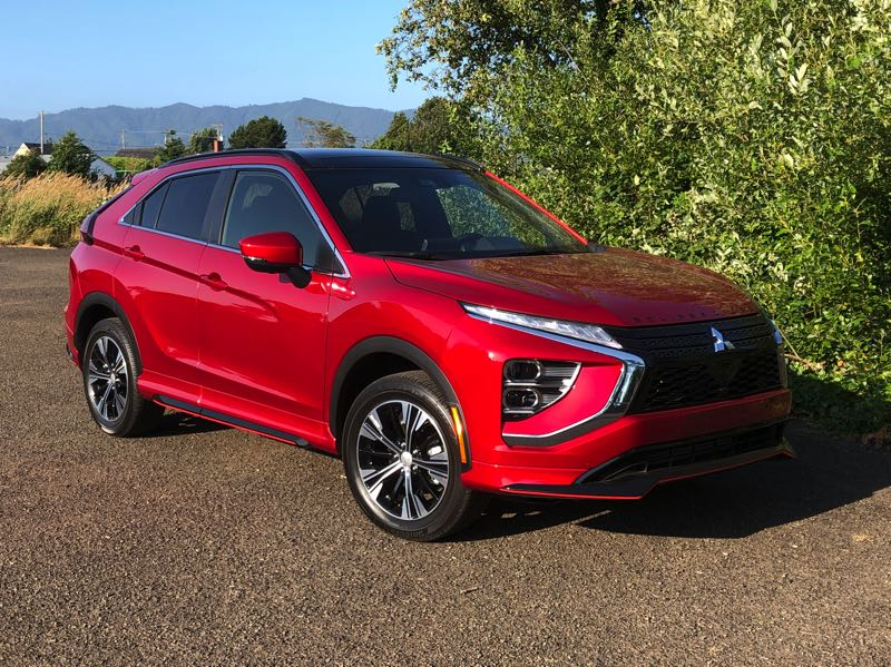 PMG PHOTO: JEFF ZURSCHMEIDE - The 2022 Mitsubishi Eclipse Cross has been refreshed with exterior sytling update and more tech in the lower priced models.