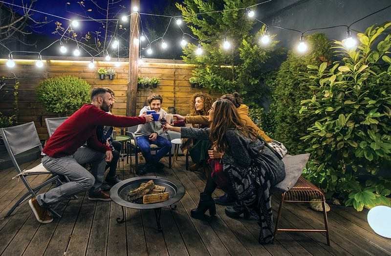 COURTESY PHOTO: METRO CREATIVE SERVICES - Exterior illumination can cast a glow on various features, but there are many other reasons to increase lighting around the exterior of a home.