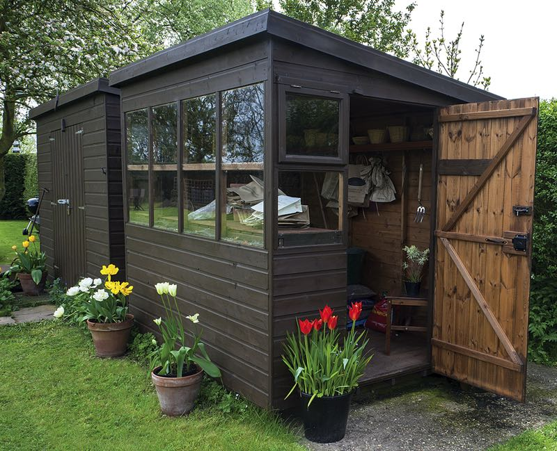 COURTESY PHOTO: METRO CREATIVE SERVICES - Various factors should be considered before building or buying a shed — here's seven components to think about.