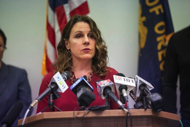 PMG FILE PHOTO - Multnomah County Chair Deborah Kafoury has reinstated an indoor mask mandate in the light of the COVID-19 delta variant.