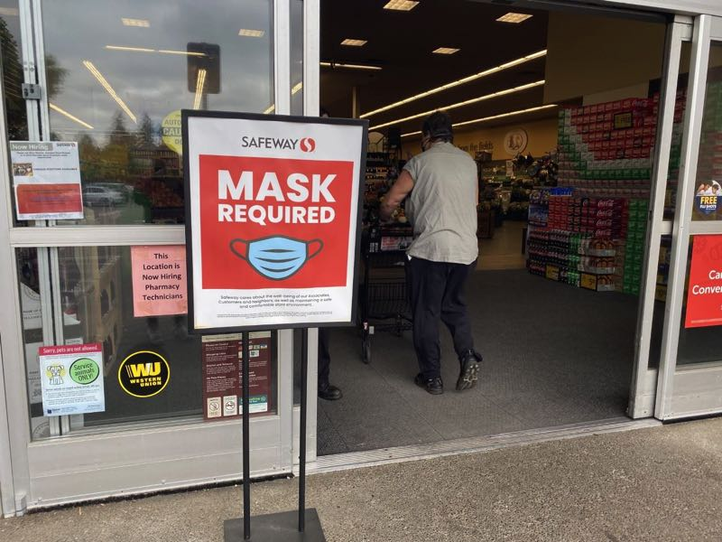 PMG FILE PHOTO - Oregon Gov. Kate Brown mandates new mask requirements beginning Friday, Aug. 13. Some businesses required masks early this year, but dropped that after the state mandates ended in June.