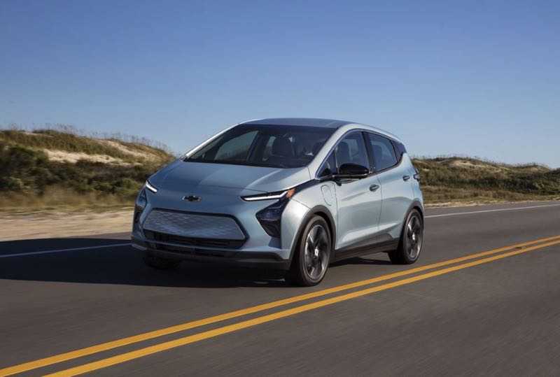 COURTESY PHOTO: CHEVROLET - The all-new 2022 Bolt EUV is just one of many electric vehicles that can use the upgraded and expanded charging stations.