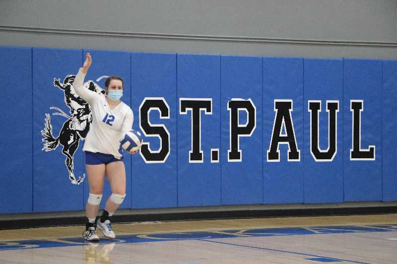 COURTESY PHOTO - Ainsley Goughnour will be one member of St. Paul volleyball's leadership this upcoming season.