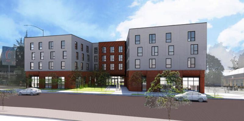 COURTESY PHOTO: PORTLAND HOUSING BUREAU - The yet-to-be built 3000 Powell affordable housing project partly funded by the Portland Housing Bureau will now have some form of air conditioning.