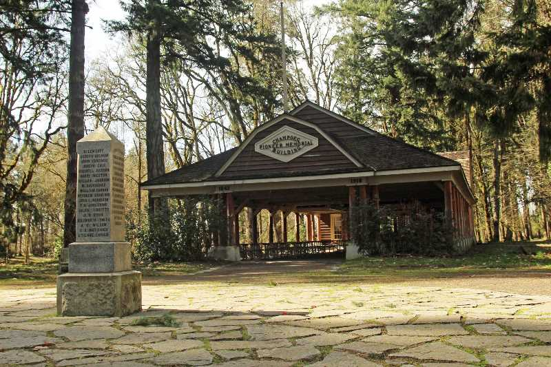 OREGON STATE PARKS - Champoeg State Park highlights a site that is rich in Oregon history., Woodburn Independent - News