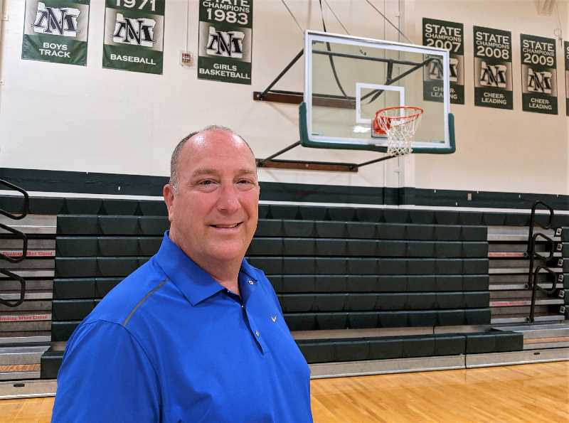COURTESY PHOTO: NORTH MARION SCHOOL DISTRICT - Mark Sundquist takes over the role of athletic director at North Marion High School. He will also serve as the vice principal of student support programs.