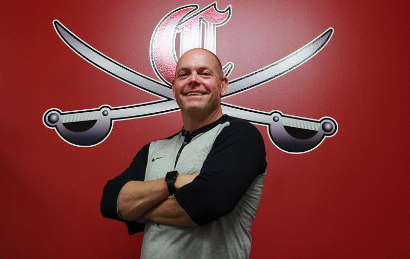 PMG PHOTO: MILES VANCE - John Arntson, longtime head baseball coach at Clackamas High School, recntly began his new role as CHS' athletic director for the 2021-22 school year.