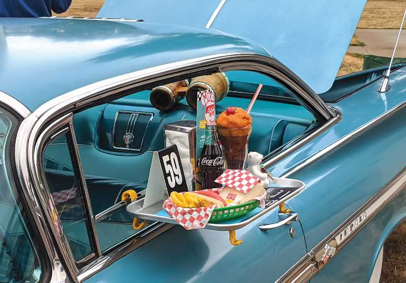 PMG PHOTO: JOHN BAKER - The Cutsforth's Cruise-In will again be held at the fairgrounds in Canby, but instead of a drive-thru event, it will be a more traditional walk-thru event.