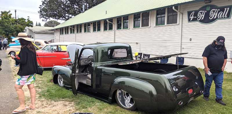 PMG PHOTO: JOHN BAKER - Cars galore will be at this year's Cutsforth's Cruise-In at the fairgrounds in Canby on Aug. 28.