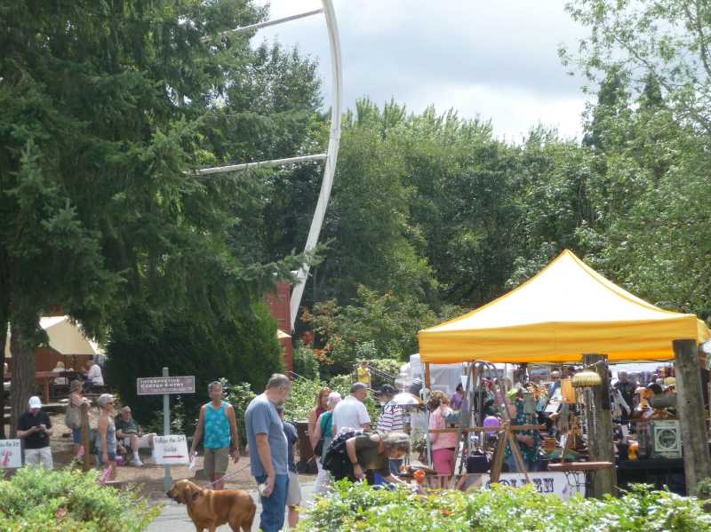 COURTESY PHOTO: THREE RIVERS ARTIST GUILD - The Oregon City Festival of the Arts took place Aug. 14-15 at the End of the Oregon Trail Interpretive Center.