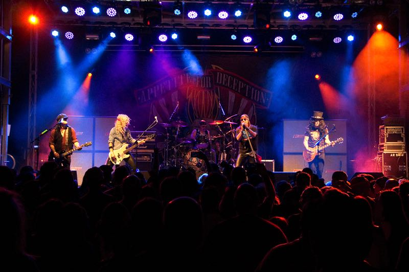 COURTESY PHOTO: J-FELL PRESENTS - Appetite for Deception, a Guns N Roses tribute, will be performing at the Mt Hood Center in Boring for the End-of-Summer Concert Series.