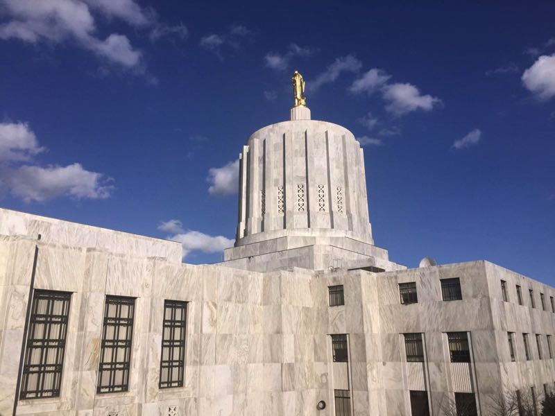 PMG FILE PHOTO: PARIS ACHEN - The Oregon State Capitol is shown here.