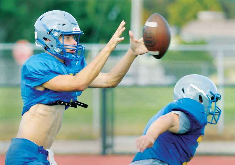 PMG PHOTO: GARY ALLEN - Senior quarterback Levi Durrell will again lead the Tigers in their quest for football dominance in the 2021 season.