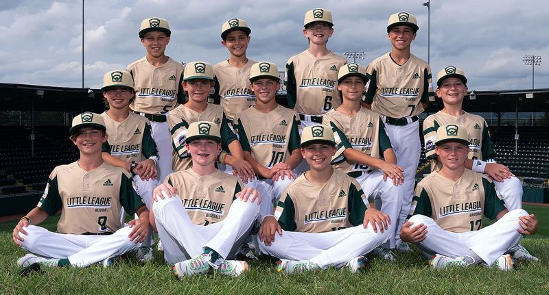 COURTESY PHOTO: LITTLE LEAGUE WORLD SERIES - The Lake Oswego Majors all-stars open play in the Little League World Series in Williamsport, Pennsylvania, at 10 a.m. today (Friday, Aug. 20).