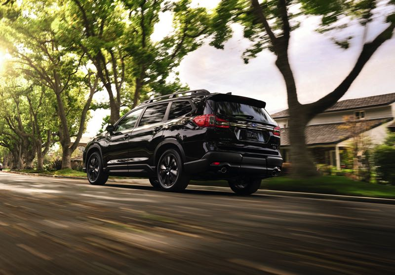 COURTESY SUBARU OF AMERICA - All versions of the 2022 Subaru Ascent come standard with a turbocharged 2.4-liter Boxer engine and Symmetrical All-Wheel Drive.