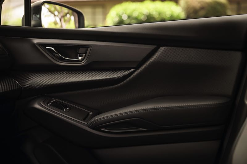 COURTESY SUBARU OF AMERICA - Special black interior trim pieces are part of the Onyx Edition package for the 2022 Subaru Ascent.