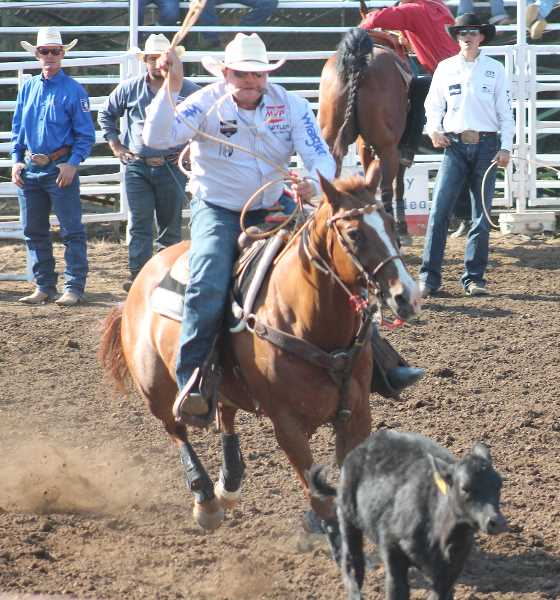 PMG PHOTO: CANBY HERALD - After a year away, this year's Canby Rodeo produced a thrilling five-day run.