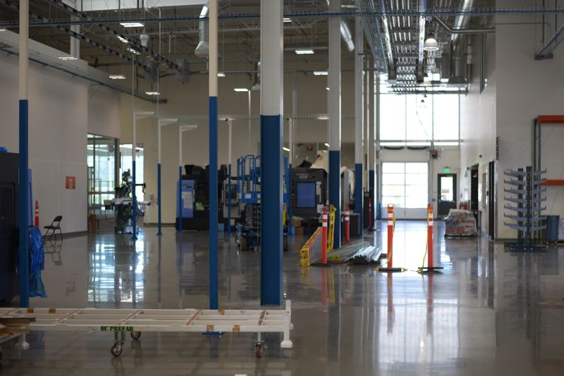 PMG PHOTO: ANNA DEL SAVIO - Equipment is still being installed at the PCC Training Center in Scappoose in August 2021.