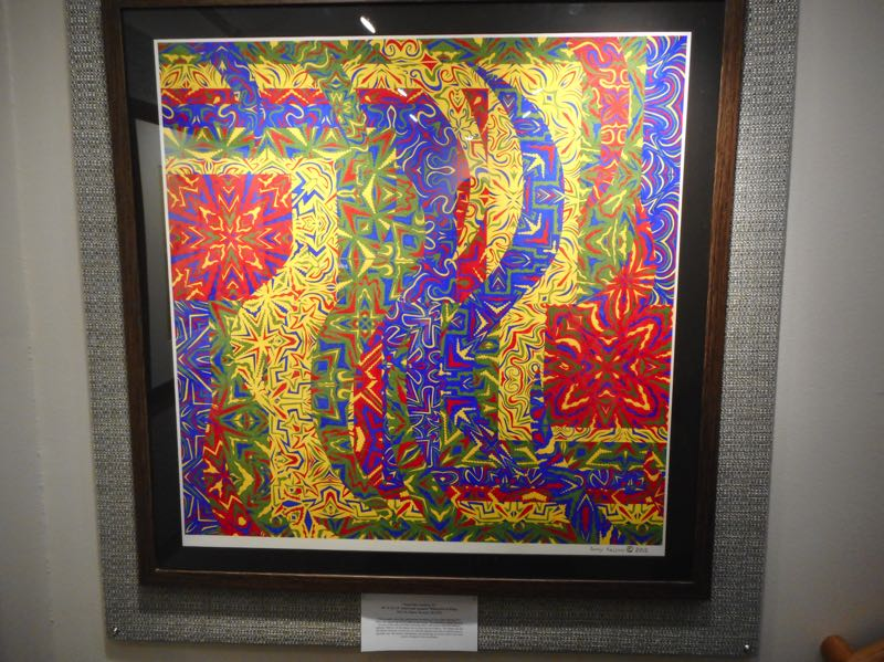 COURTESY PHOTO: DANIEL KESSNER - Artist Daniel Kessner has 11 pieces on display at the library through Aug. 30.