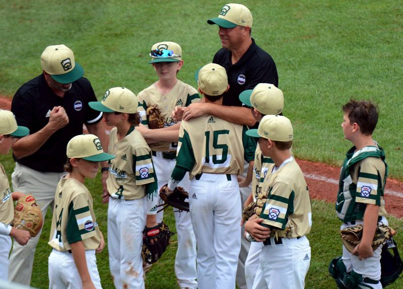 COURTESY PHOTO: HILARY SMITH - The Lake Oswego Majors all-stars made memories both on the field and off during their play in the 2021 Little League World Series in Williamsport, Pennsylvania.