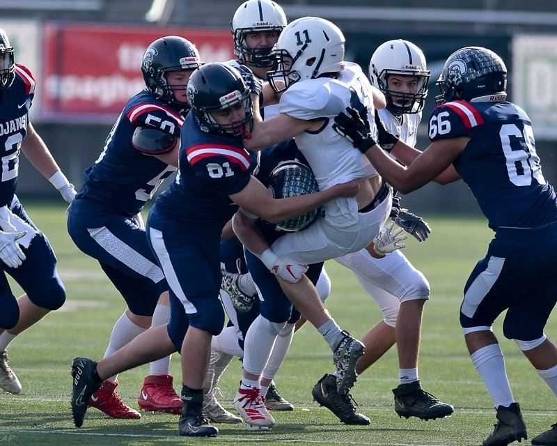 COURTESY FILE PHOTO: ANDRE PANSE - The Kennedy football team will look to overwhelm the opposition in the 2021-22 season.