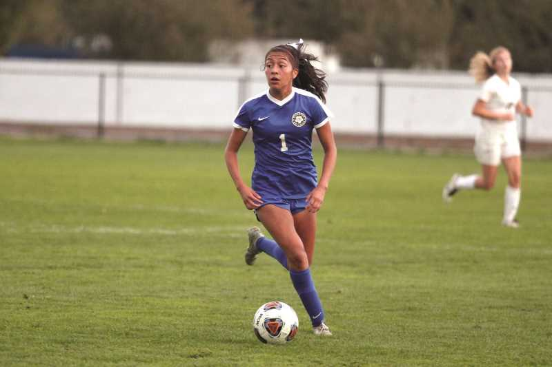 PMG FILE PHOTO: PHIL HAWKINS - Myranda Marquez returns as a senior to help bring her team back to the state title they held in 2019.