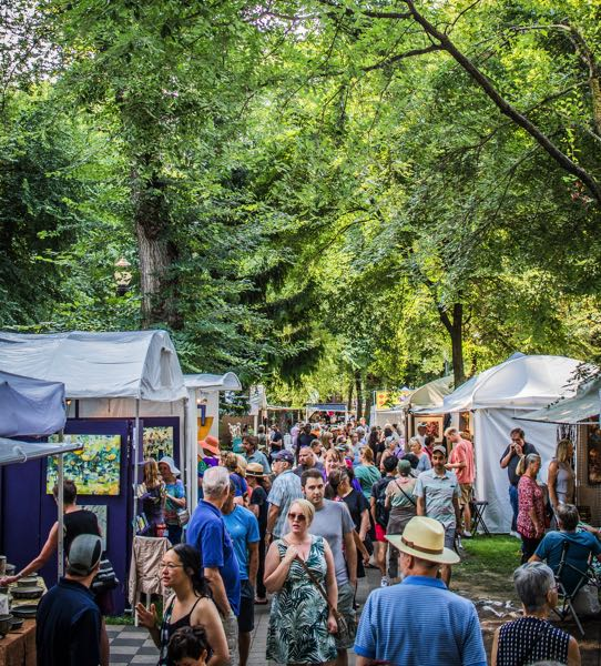 COURTESY PHOTO: ART IN THE PEARL - Visitors at the 25th annual Art in the Pearl will be asked to wear masks, but organizers still expect thousands of visitors.