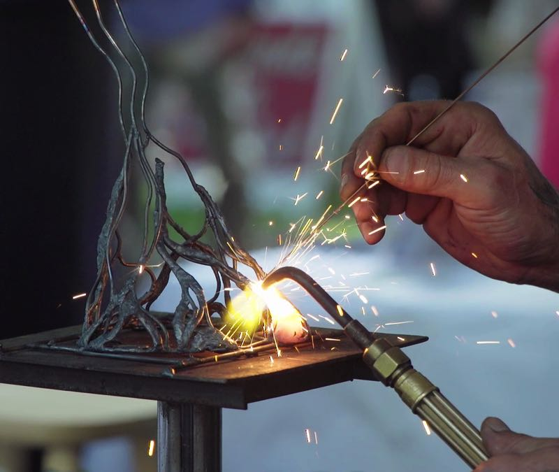 COURTESY PHOTO: ART IN THE PEARL - It takes a special touch to be an artist, especially of the caliber appearing at Art in the Pearl.