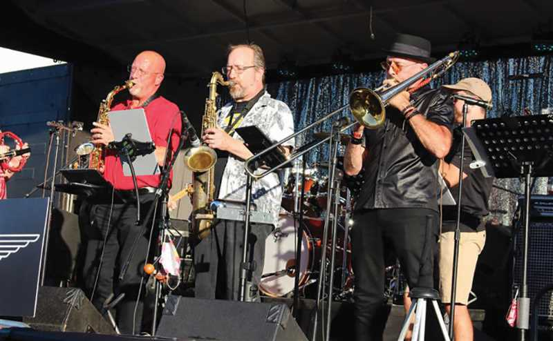 PMG PHOTO: SANDY STOREY - Music for the Big Night Out Street Dance was supplied by 21 Turns and Return Flight.