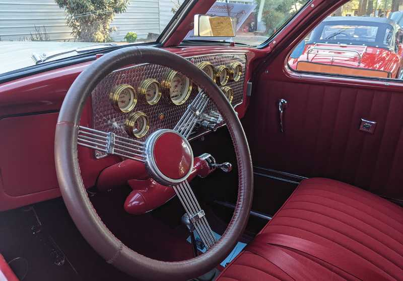 PMG PHOTO: JOHN BAKER - While the outside of the classic cars was something to behold, there were plenty of interesting items tucked into the inside of the vehicles as well.