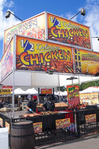 PMG PHOTO: SALLY SEGAR - Food has always been an attraction at the Oregon State Fair.