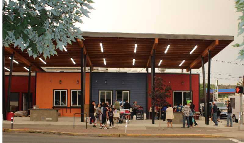 ANDY DIECKHOFF/MADRAS PIONEER - Food vendors will serve at Reynoso Food Court during the Sept. 2 First Thursday event in downtown Madras.