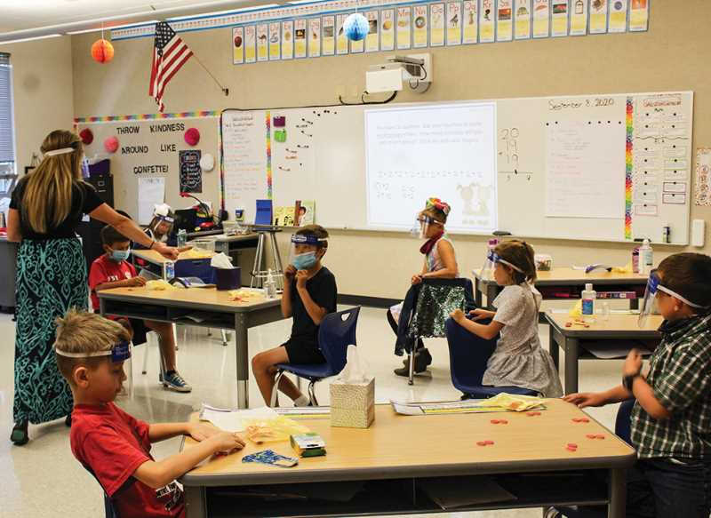 CENTRAL OREGONIAN - Students will be back in the classroom on day one, and face coverings are required for now.