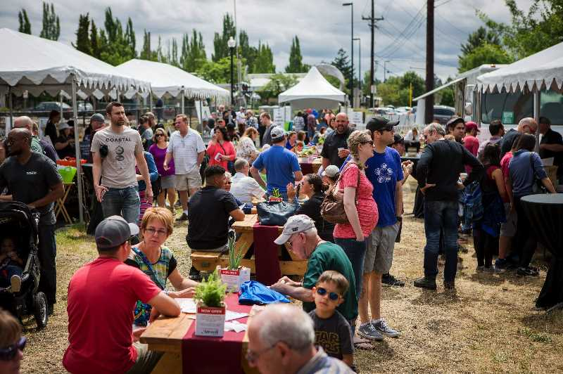 PMG FILE PHOTO - This years Taste of Tigard Food Festival has been canceled due to concerns over the possible spread of the COVID-19 delta variant, following recommendations from local and federal officials.
