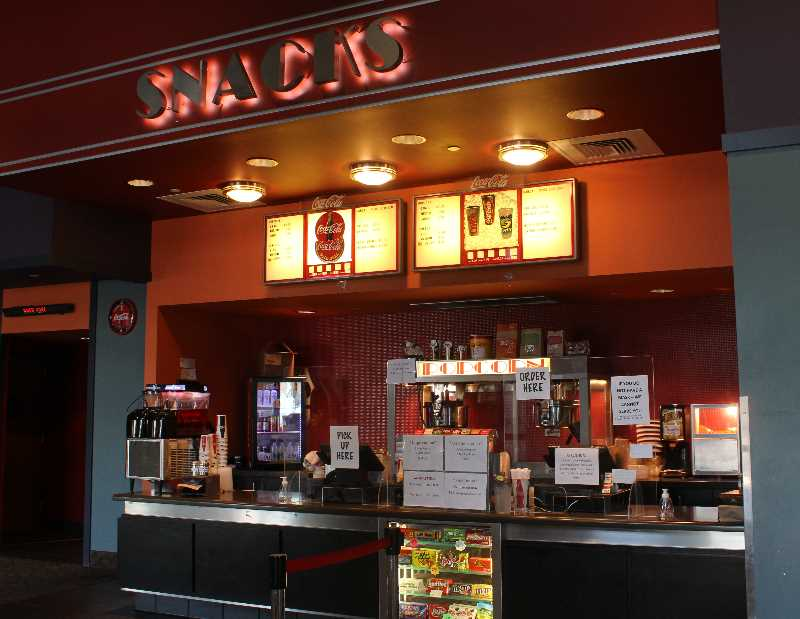 PAT KRUIS/MADRAS PIONEER  - Concessions at Madras Cinema will soon include alcoholic beverages.